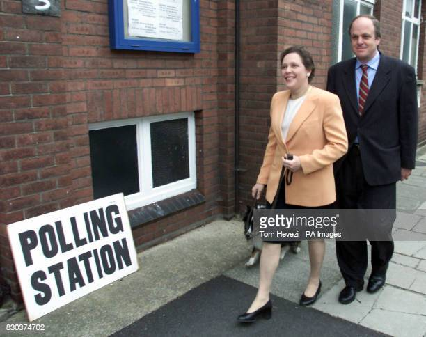 Liberal Democrat candidate Susan Kramer with husband John to cast her vote in Barnes for the historical mayoral elections All four of the main...