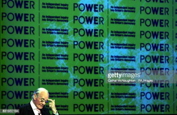 Liberal Democrat leader Sir Menzies Campbell at the Power to the People conference organised by the Power Commission at the Queen Elizabeth II centre...