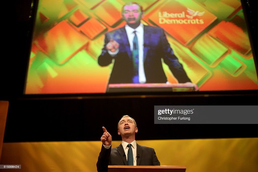 Tim Farron Addresses The Liberal Democrat Spring ...