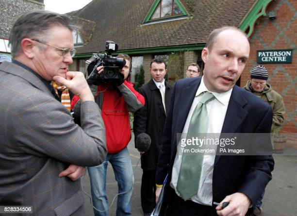 Liberal Democrat MP Mark Oaten arrives for his surgery in Swanmore near Winchester Hampshire Friday February 3rd 2006 to face constituents for the...