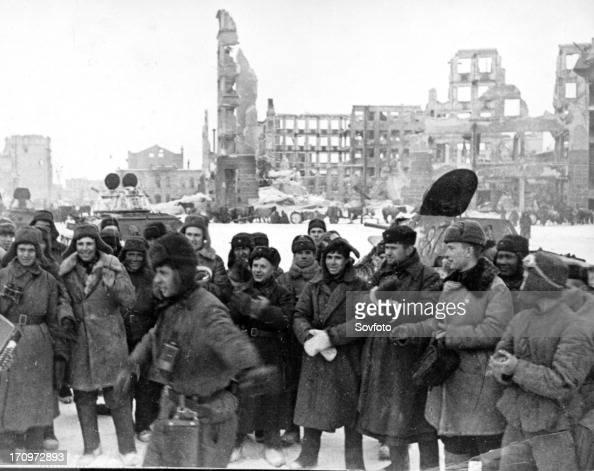 Liberated stalingrad in january 1943