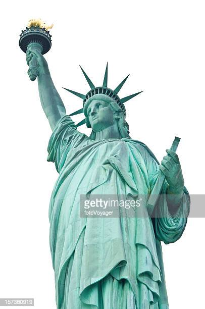 Liberty isolated on white
