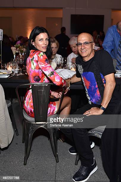 Liberty Ross and Jimmy Lovine attend Hammer Museum's 'Gala in the Garden' Sponsored by Bottega Veneta at Hammer Museum on October 10 2015 in Westwood...