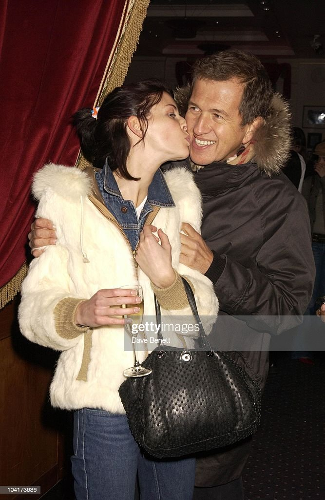 Liberty Ross And Mario Testino, Frost French Fashion Tea Party At Bafta Cinema In Picadilly,turned The Normal Fashion Show On Its Head As The Audience Was Treated To A Film Of The Designers New Collection, London Fashion Week 2003