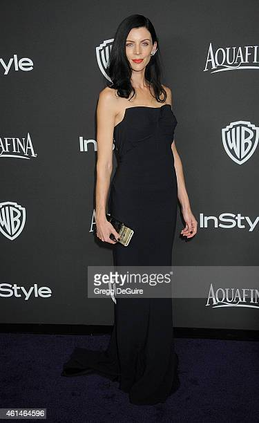 Liberty Ross arrives at the 16th Annual Warner Bros And InStyle PostGolden Globe Party at The Beverly Hilton Hotel on January 11 2015 in Beverly...