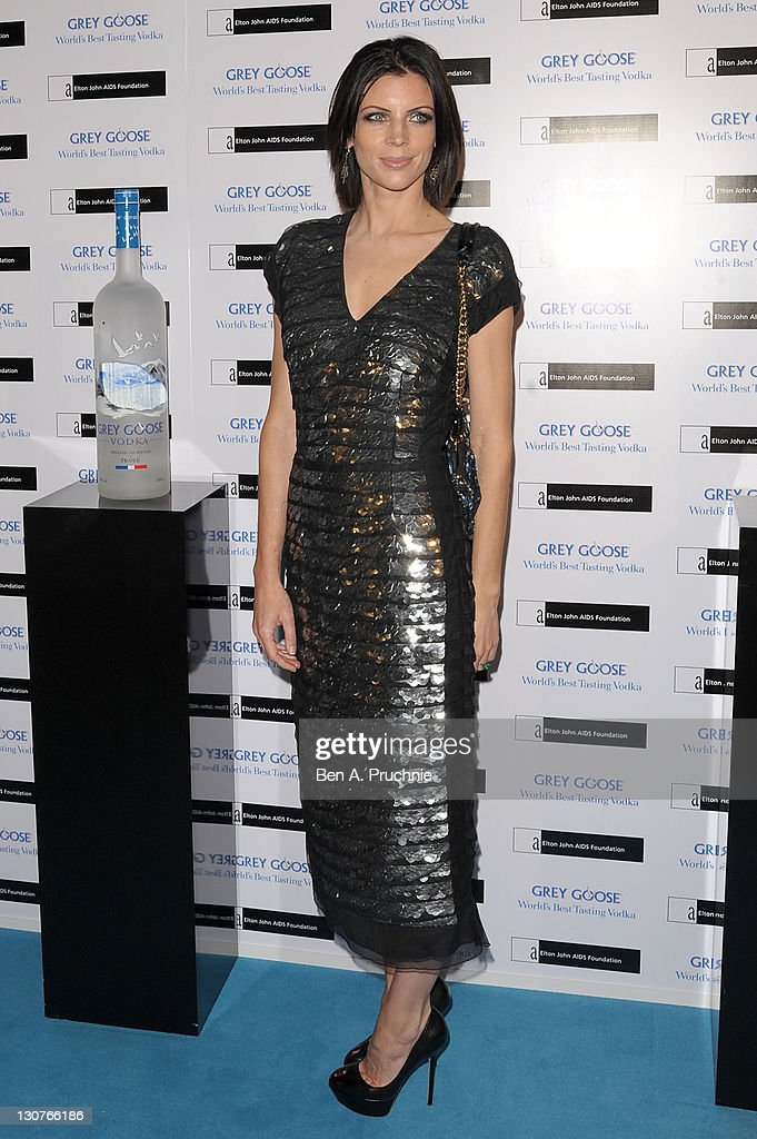 Liberty Ross attends the Grey Goose Winter Ball at Battersea Park on October 29, 2011 in London, England.