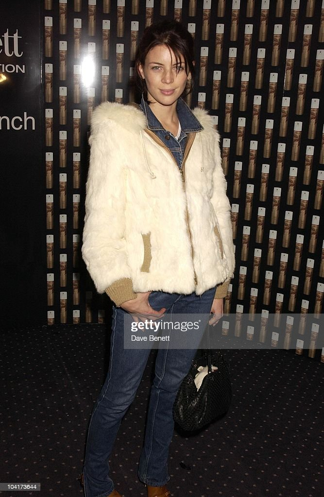 Liberty Ross, Frost French Fashion Tea Party At Bafta Cinema In Picadilly,turned The Normal Fashion Show On Its Head As The Audience Was Treated To A Film Of The Designers New Collection, London Fashion Week 2003