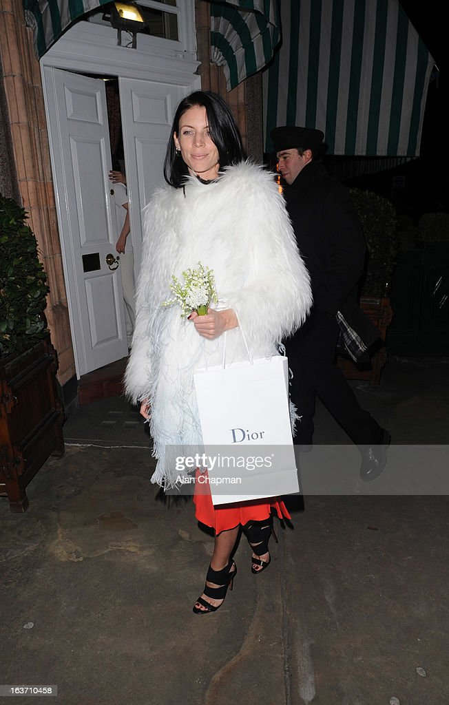 <a gi-track='captionPersonalityLinkClicked' href=/galleries/search?phrase=Liberty+Ross&family=editorial&specificpeople=211135 ng-click='$event.stopPropagation()'>Liberty Ross</a> sighting at Harry's Bar on March 14, 2013 in London, England.