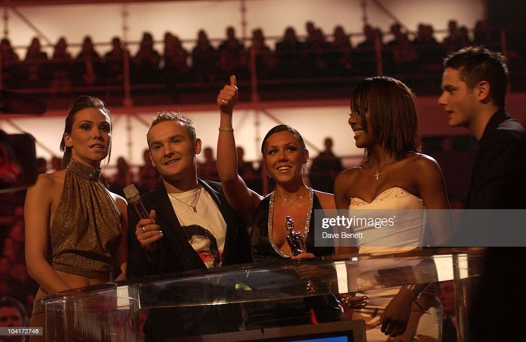 Liberty X, The Brit Awards 2003, Earl's Court, London