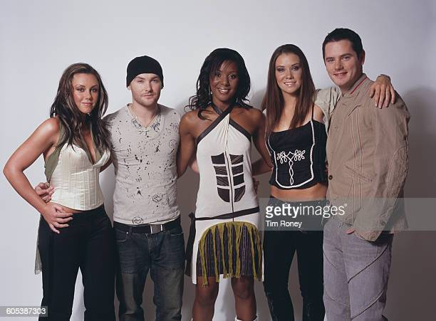 Liberty X the pop group formed by the runnersup in the ITV talent contest 'Popstars' February 2002