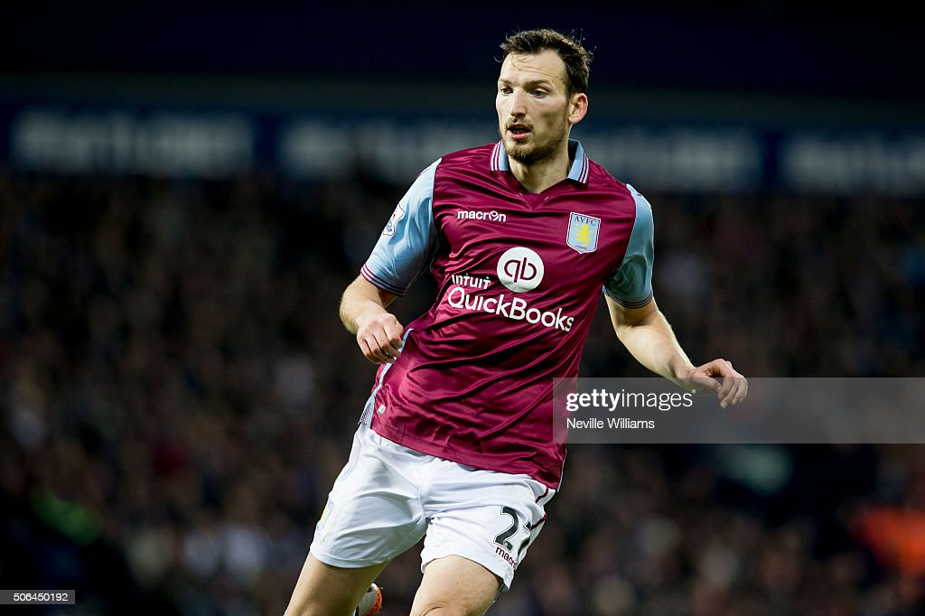 Libor Kozak of Aston Villa during the Barclays Premier League match between West Bromwich Albion and Aston Villa at The Hawthorns on January 23, 2016 in West Bromwich, England.