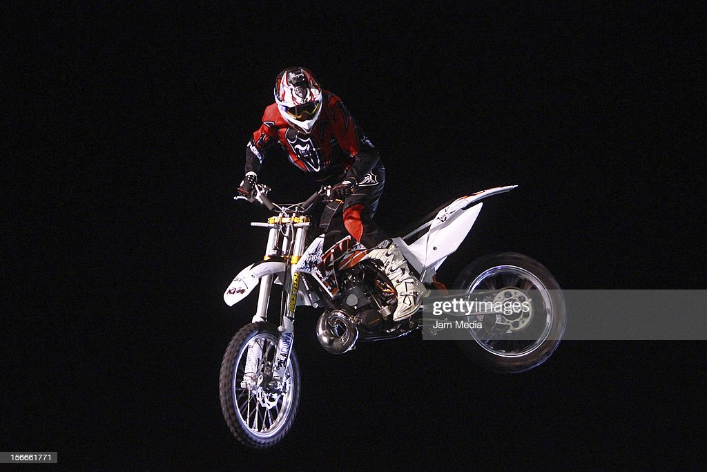 Libor Podmol of Czech Republic in action during the Xpilots - World Freestyle Motocross at Foro Sol on November 17, 2012 in Mexico City, Mexico