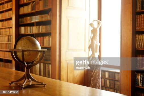 Librarians Desk Stock Photo | Getty Images