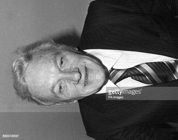 Library file 1991972 dated 191181 Lord Cudlipp of Aldingbourne the former chairman of IPC now Mirror Group Newspapers who died this morning at the...