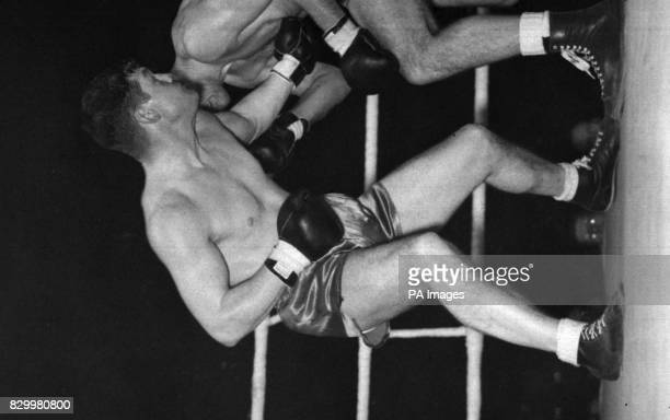 Library file 213391 dated 141150 of former British Empire and European heavyweight champion Bruce Woodcock who died today in an old people's home in...