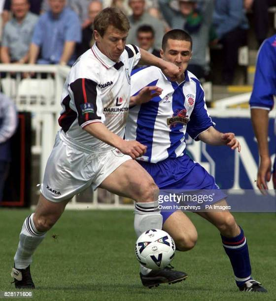 PA library file dated of footballer Marco Gabbiadini in action for Darlington See PA story SOCCER Remember PRESS ASSOCIATION Photo Photo credit...