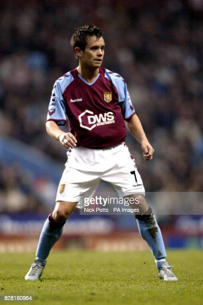 PA library file dated of Aston Villa's Lee Hendrie Aston Villa have suffered another injury setback with midfielder Hendrie requiring knee surgery A...