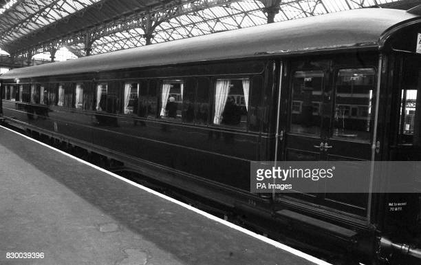 Library file dated 2/6/76 The Royal coach leaves Victoria Station for the Epsom Derby As part of costsaving measures it was announced today that...