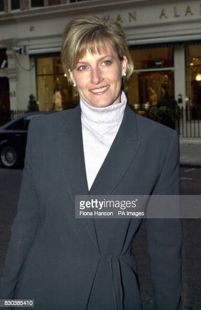 Library file picture dated of The Countess of Wessex on her 35th birthday arriving for work at her public relations firm in central London** Sophie...