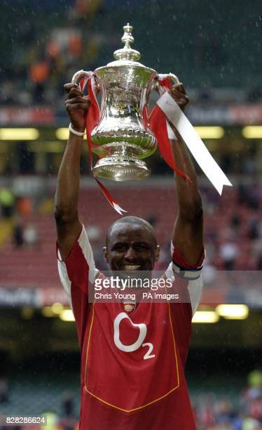Library filer dated of Patrick Vieira lifting the FA Cup after Arsenal defeated Manchester United The FA Cup has been named one of the first dozen...