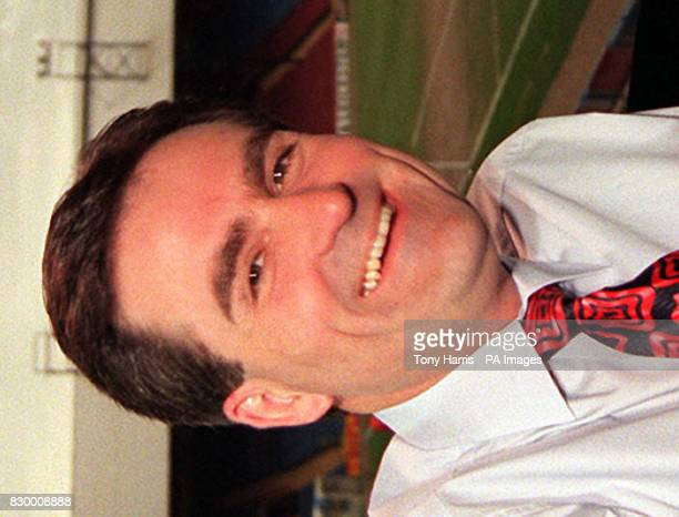Library filer dated 23397 of sports presenter Richard Keys who celebrates his 41st birthday on Thursday April 23 1998 Photo by Tony Harris/PA