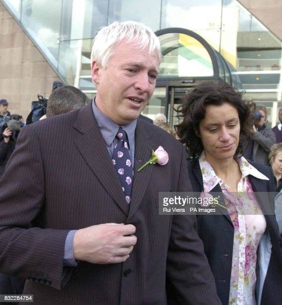 Library filer dated 28/10/04 of Graham and Mary Storrie the parents of tenyearold ballet dancer Rosie May who's killer Paul James Smith has abandoned...