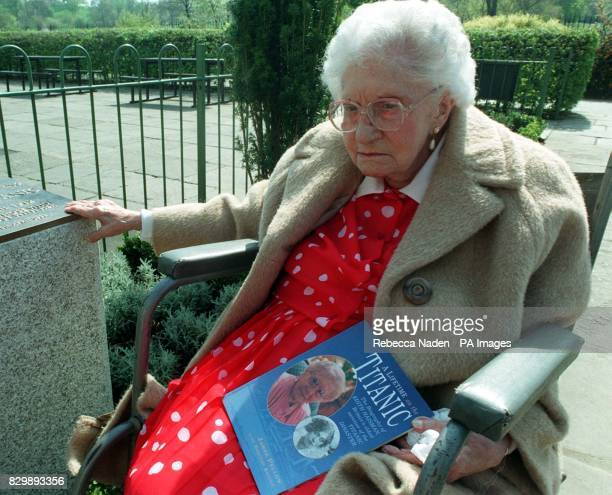 Library filer of the oldest survivor of the Titanic disaster Edith Haisman who has died at the age of 100 Mrs Haisman was 15 when she made the...