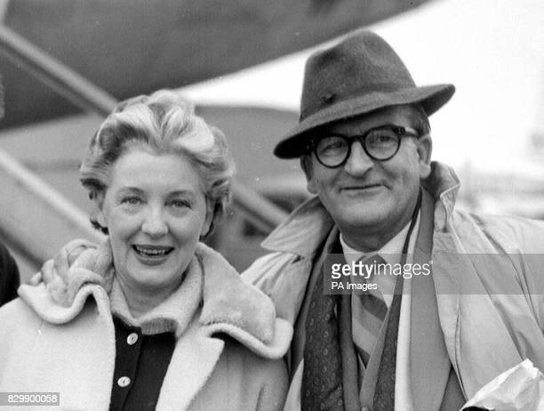 Library filer ref 802091 dated 301059 of film director and producer Frank Launder with actress Kay Walsh It was announced today that Mr Launder most...