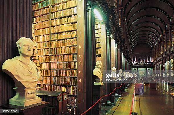 Library of Trinity College Dublin Ireland