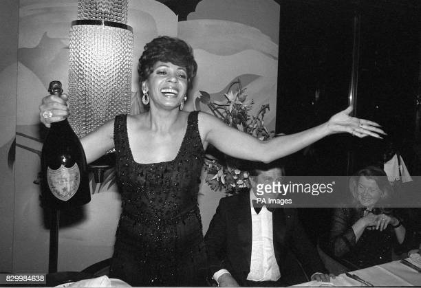 A magnum of champagne marks a silver anniversary for bubbling Shirley Bassey after 25 years in showbiz Miss Bassey appeared at Brentford County Court...