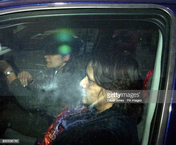 Library photo dated February 2 2000 of Dr Kumundini Khare being driven from Birmingham Crown Court Thursday February 17 2000 The court heard how Dr...