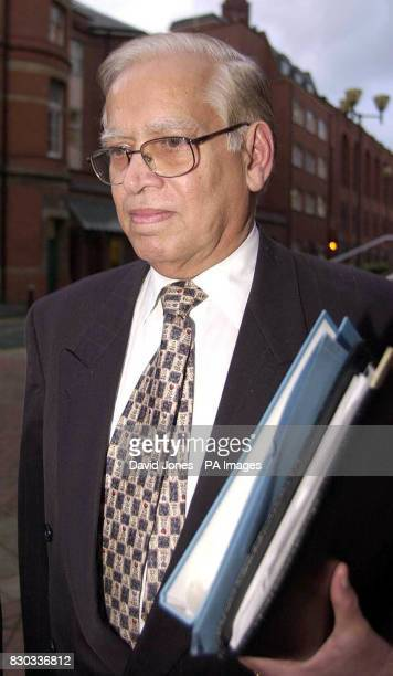 Library photo dated February 2 2000 of Dr Manohar Rangwani who was sentenced to seven years in prison Thursday February 17 2000 for trying to hire a...