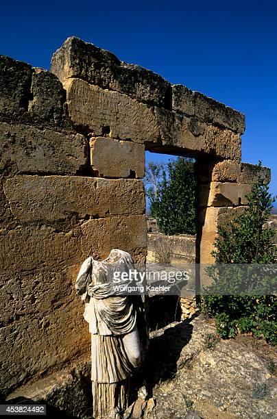 Libya Near Benghazi Cyrene Temple Of Artemis