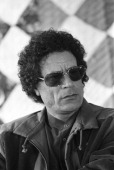 Libyan leader Colonel Moammar Gadhafi in November 1985