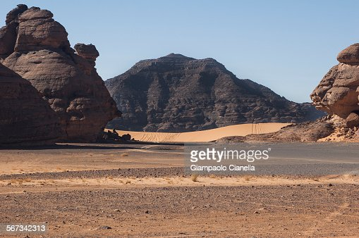 Libyan sahara desert