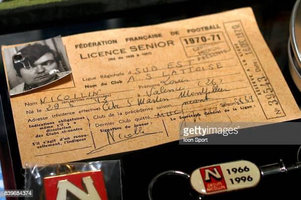 Licence de Louis NICOLLIN Sujet magazine chez lui a Montpellier