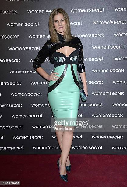 Lidia San Jose attends the Women Secret's 'Dark Seduction' fashion film premiere at Callao Cinema on November 5 2014 in Madrid Spain