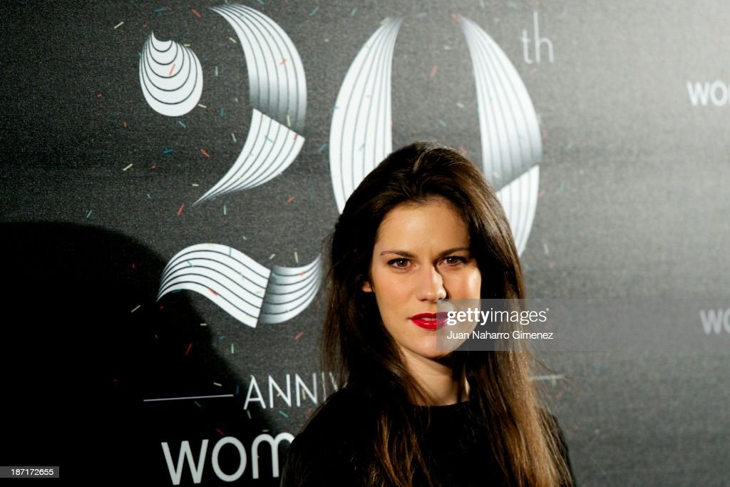 Lidia Sanjose attends Women'secret New Collection presentation 20th anniversary at Botanic Garden on November 6, 2013 in Madrid, Spain.
