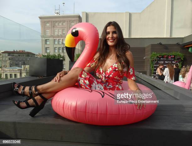 Lidia Torrent presents Flormar summer new collection during the Tropical Splash Party at Gallery hotel on June 15 2017 in Barcelona Spain