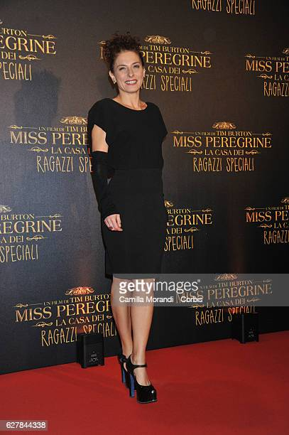 Lidia Vitale attends Burton's 'Miss Peregrine's Home for Peculiar Children' Premiere In Rome on December 5 2016 in Rome Italy