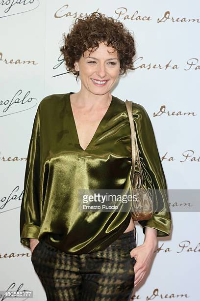 Lidia Vitale attends the 'Caserta Palace Dream' premiere at Capitol Club on March 25 2014 in Rome Italy