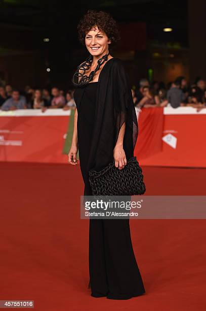 Lidia Vitale attends the 'La prochaine fois je viserai le coeur' Red carpet during the 9th Rome Film Festival on October 20 2014 in Rome Italy