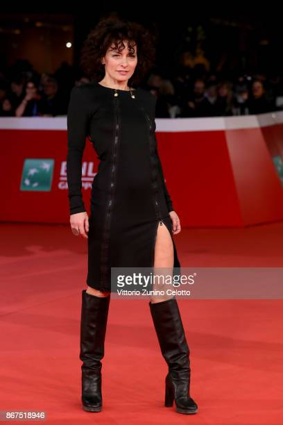 Lidia Vitale walks a red carpet for 'Stronger' during the 12th Rome Film Fest at Auditorium Parco Della Musica on October 28 2017 in Rome Italy