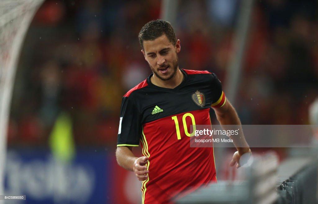20170831 - Liege, Belgium / Fifa WC 2018 Qualifying match : Belgium v Gibraltar / 'nEden HAZARD'nEuropean Qualifiers / Qualifying Round Group H / 'nPicture by Vincent Van Doornick / Isosport