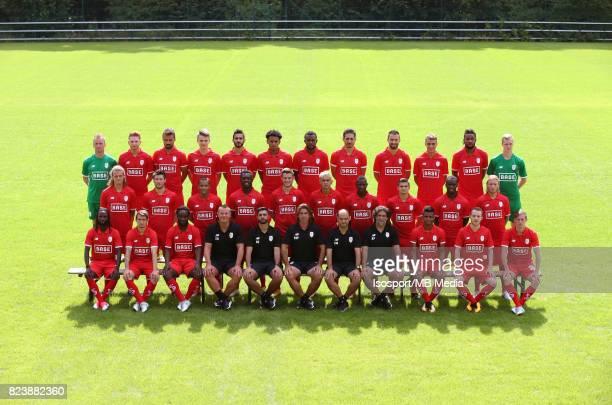 20170704 Liege Belgium / Photoshoot Standard de Liege 2017 2018 / 'n'nBack row JeanFrancois GILLET Renaud EMOND Orlando SA Dimitri LAVALEE...