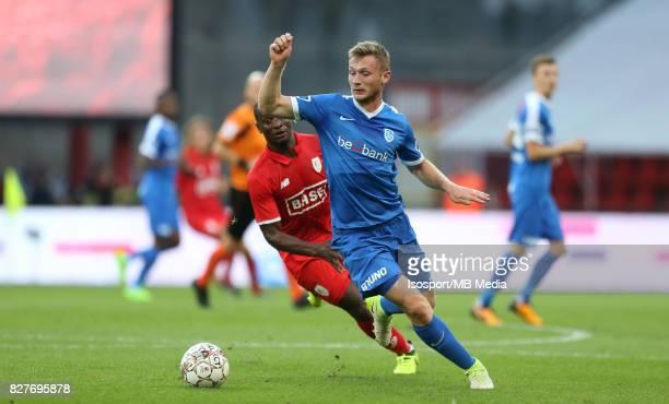 20170804 Liege Belgium / Standard de Liege v Krc Genk / 'nJakub BRABEC'nFootball Jupiler Pro League 2017 2018 Matchday 2 / 'nPicture by Vincent Van...