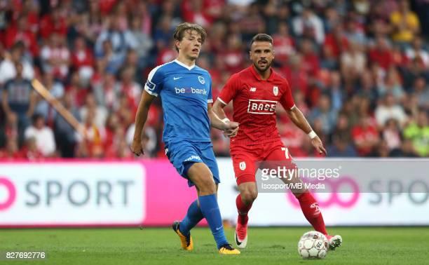 20170804 Liege Belgium / Standard de Liege v Krc Genk / 'nSander BERGE Orlando SA'nFootball Jupiler Pro League 2017 2018 Matchday 2 / 'nPicture by...