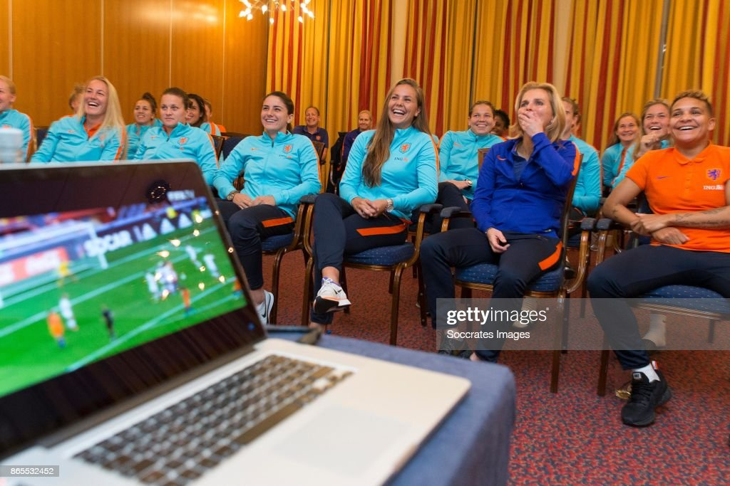 Sarina Wiegman And Lieke Martens Celebrate FIFA Best Women Coach And Player 2017 Awards