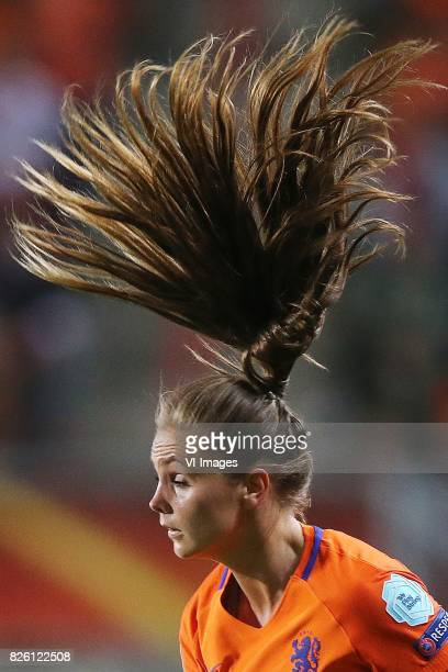 Lieke Martens of Holland Women during the semifinal UEFA WEURO 2017 match between The Netherlands and England at the Grolsch Veste on August 3 2017...