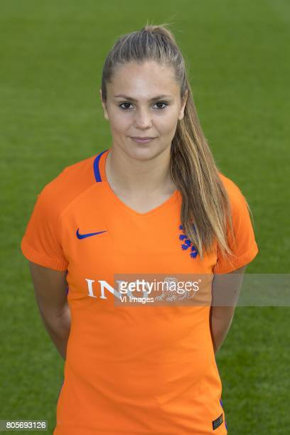 Lieke Martens of Holland Womenduring the team presentation of women Netherlands on July 02 2017 at the KNVB campus in Zeist The Netherlands